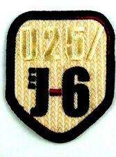 """Applikation zum Aufbügeln Bügelbild 3-592 Ziffer """"025/J-6"""""""