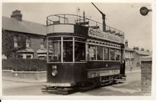 Old Photo of Dover Tram No.16 at the Maxton Terminus