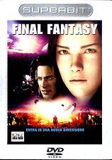 FINAL FANTASY (Superbit Edition) DVD FILM Usato