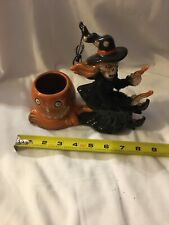 Yankee Candles Boney Bumch Collection V/H Boney Witch # 1257362 In Box