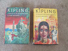 Kipling A Selection of His Stories & Poems by John Beecroft Vol 1, 2 Jungle Book