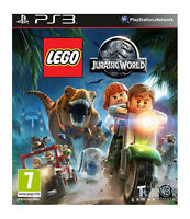 LEGO Jurassic World (Sony PlayStation 3, 2015) CHEAP PRICE AND FREE POSTAGE