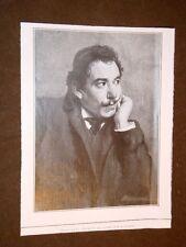 Attore di cinema e teatro Giovanni Grasso di Catania nel 1908 Ritratto Covelli