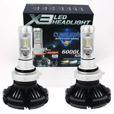 2x 9006 HB4 Bombilla LED Luce Kit Blanco 12000Lm 50W principal High Beam Canbus