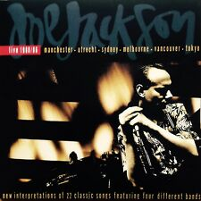 JOE JACKSON 'LIVE 1980/1986' BRAND NEW SEALED RE-ISSUE DOUBLE LP 180 GRAM VINYL