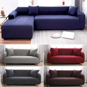 Stretch Sofa Cover Couch Lounge Recliner Slipcover Protector 1 2 3 4 Seater