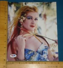 PSA DNA Certified Authentic CYNDI LAUPER signed 8x10 Color Photo (Missing Cert)