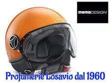 """MOMO DESIGN """" Fighter Glam """" Casco ARANCIO (taglia M/L)"""