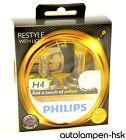 PHILIPS H4 ColorVision Amarillo Bombillas Halógena Juego de 2 - Art No.