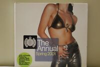 Ministry of Sound The Annual Spring 2001 2 CD Royal Mail 1st Class FAST & FREE