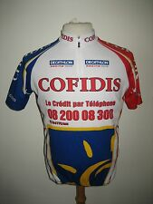 Cofidis France TEAM ISSUE jersey shirt cycling wielrennen radsport maillot sz M