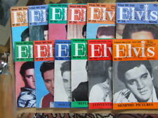 Elvis Monthly: 1981 Nos 252 to 263.   Complete run of 12 issues.