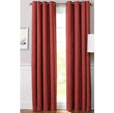 Better Homes and Gardens Basketweave Home Curtain Panel Rustic Brick 95 inch.