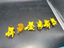 6 X  pokemon pikachu figur