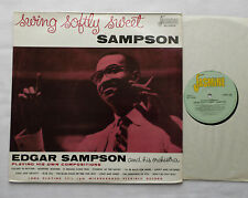Edgar SAMPSON Swing softly sweet Sampson UK LP JASMINE JASM 1020 (RE-198?)