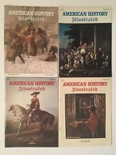 AMERICAN HISTORY ILLUSTRATED 1978 MAGAZINE LOT OF 4 ISSUES