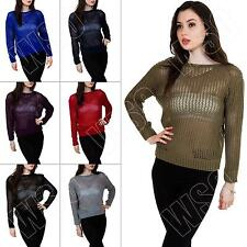Waist Length Acrylic Long Sleeve Women's Jumpers & Cardigans