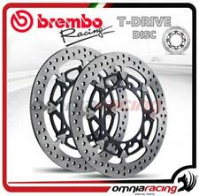 Couple Disques frein Brembo T-Drive 310mm Suzuki GSX-R (GSXR) 1000 K7 2007>2008