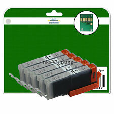 5 Grey C551 Ink Cartridges for Canon Pixma iP8750 MG7150 MG7550 MX925 non-OEM