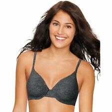 2d76a502d3fea Hanes Ultimate Comfortblend T-shirt Underwire Bra - Unknown 38 Black  Heather 38dd