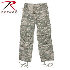 Rothco 3396 Womens Camo Vintage Paratrooper Fatigue Pants - ACU Digital Camo