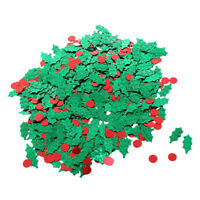 Christmas Party Holly Berries Table Confetti Sprinkles Scatters Decor 15g