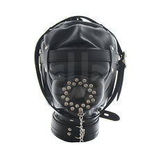 Sensory Deprivation Plughole Hood Gimp Mask