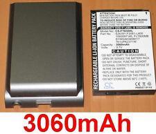 Coque + Batterie 3060mAh Pour Fujitsu Siemens Loox T810