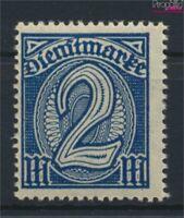 Deutsches Reich D32, Wasserzeichen Rauten postfrisch 1920 Dienstmarke (9158246
