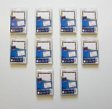 1000 AVERY DENNISON GOLD BORDER BADGES NAME TAGS ID LABELS ADHESIVE PEEL LABEL
