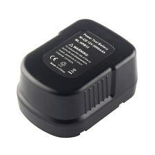 12V 2.0Ah Battery for BLACK & DECKER A12-XJ  B-8315 BD1204L BD-1204L BPT1047