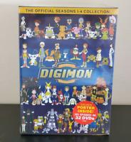 DIGIMON : The Complete Series Seasons 1-4 (New DVD, 32-Discs) SEASON 1 2 3 4