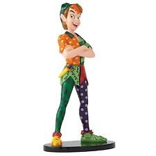 Disney Britto Showcase Peter Pan Resin Figurine Hand Painted Lovely Gift Boxed