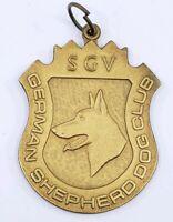 Vintage San Gabriel Valley German Shepherd Dog Club Medal