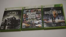 Lot 3 Fallout 3 w Guide (Microsoft Xbox 360) + Battlefield 3 + GTA Liberty City