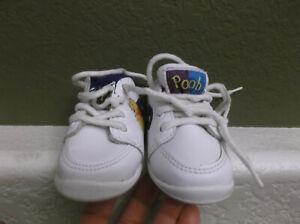 Winnie The Pooh Disney Toddler Size 2 White Tennis Shoes
