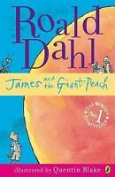 James and the Giant Peach by Roald Dahl, Good Used Book (Paperback) FREE & FAST