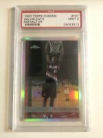 PSA 9 Mint RC Refractor 1997-98 Topps Chrome Rookie #167 Kelvin Cato Graded NBA