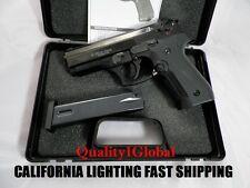1:1 METAL BLACK EKOL DICLE REPLICA BERETTA P4 M&P MOVIE PROP Pistol Gun Training