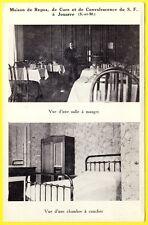 cpa 77 - JOUARRE (Seine et Marne) MAISON de REPOS PTT CURE CONVALESCENCE Chambre