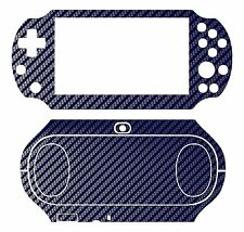 Blue Carbon Fiber Vinyl Decal Skin Sticker for Sony PlayStation PS Vita PSV 2000