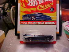 Hot Wheels Classics Series 2 1957 Chevy Bel Air Convertible Dark Blue