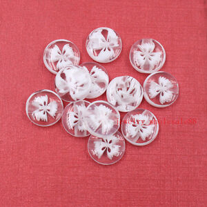 300pcs in bulk baby's Scrapbooking Sewing round resin clothes buttons white