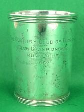 """""""Newport Sterling The Country Club of Florida 1967 Julep Cup"""""""