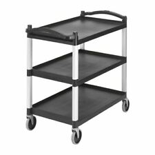 More details for cambro cart in black polypropylene - easy to assemble - 950 x 1015 x 540 mm