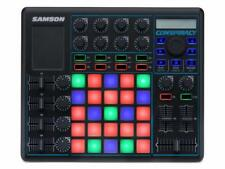 Samson Conspiracy - Usb Midi Controller 25 Pad (DJ, Rotary Encoder Ableton iPad)