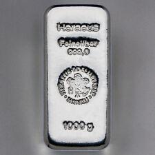 Heraeus - Lingot Argent - 1 kg sous scellé
