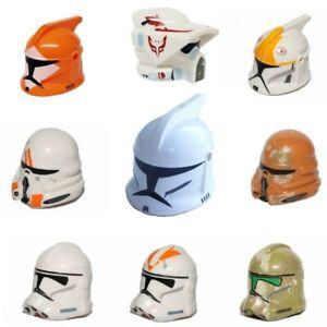 LEGO Star Wars Clone Trooper Helmet Minifigure - YOU CHOOSE