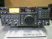 Icom IC-R71A Amateur HF Receiver, Serial #02684