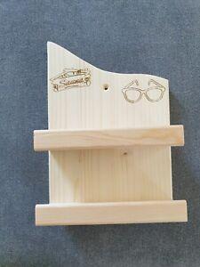 Sauna Brillenhalter für 2 Brillen ,Brillenregal, Brillenablage